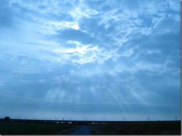 DSC02546 最後帶天地出門時看到的天光